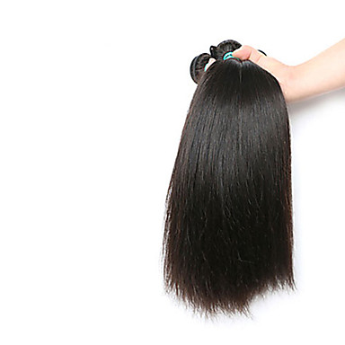 Az emberi haj sző Indiai haj Ravno 3 darab haj sző