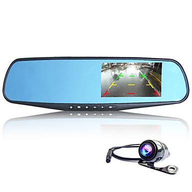 Full HD / Video ut / G-sensor / Vidvinkel / 1080P / Støtsikker / Stillbildefotografering-5 MP CMOS-2048 x 1536-CAR DVD