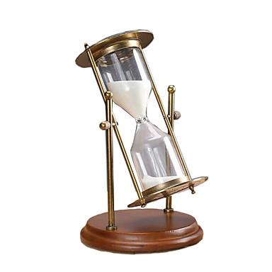 砂時計 おもちゃ 円筒形 レトロ風 調度品 男の子 女の子 小品