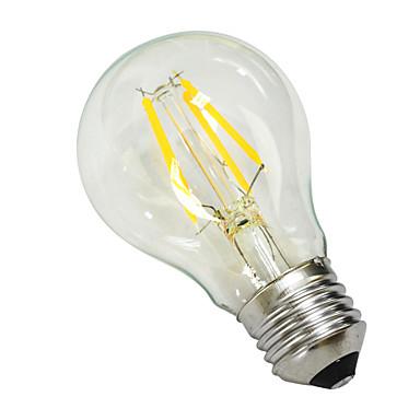 E27 4W 380lm 5500-6000k dovela tungsten jezgrom bijelo svjetlo globus žarulja (AC 220 -240v)