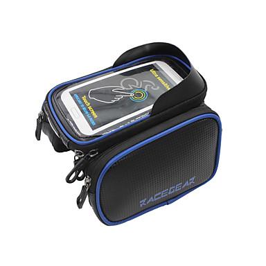 حقيبة الهاتف الخليوي / حقيبة دراجة الإطار 5.5/6.2 بوصة الشاشات التي تعمل باللمس, مقاوم للماء ركوب الدراجة إلى iPhone 8 Plus / 7 Plus / 6S Plus / 6 Plus / iPhone X / سامسونج غالاكسي S8 / S7 / Note 7