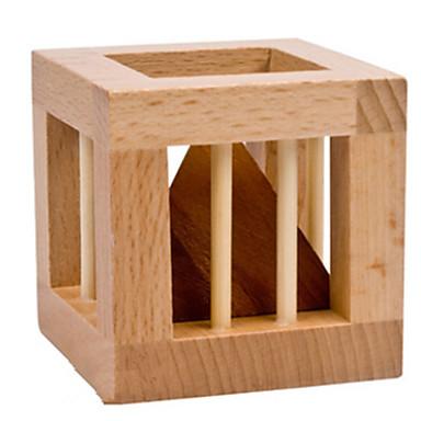 ウッドパズル クリスマスギフト 頭の体操/ 知恵の輪 木製立体パズル おもちゃ タワー・塔 おもちゃ IQテスト ウッド 男の子 女の子 小品