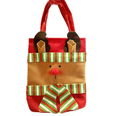 クリスマスデコレーション クリスマスパーティー用品 ギフトバッグ おもちゃ サンタスーツ Elk 雪だるま 3 小品 クリスマス ギフト