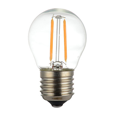 1個 400lm E14 E26 / E27 B22 フィラメントタイプLED電球 G45 2 LEDビーズ COB 装飾用 温白色 クールホワイト 220V 110V