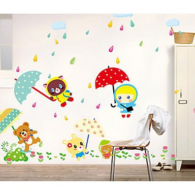 Cartoon Design Wand-Sticker Flugzeug-Wand Sticker Dekorative Wand Sticker,Vinyl Stoff Haus Dekoration Wandtattoo
