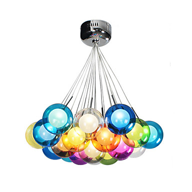 Pendant Lights. UMEI™ Modern Bubble Globe Colored ...