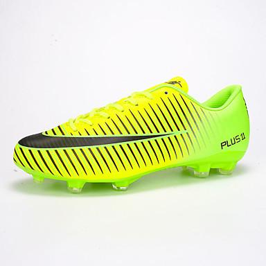 Homens sapatos Couro Ecológico Primavera / Outono Conforto Tênis Futebol Prata / Verde / Rosa claro