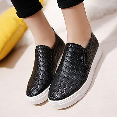 Dorado slouch 05527974 Zapatos Casual cms botas 4'5 de Verano bajo y Negro Slip 2'5 PU taco Primavera Confort Ons Mujer Tacón Bajo Otoño 4qFTCwnw