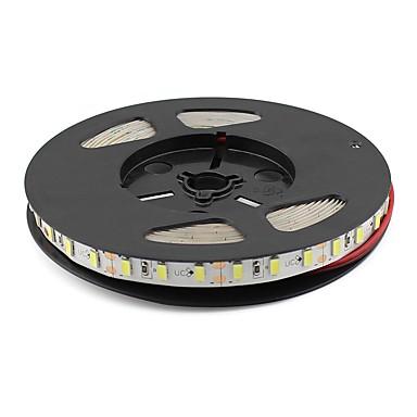 5m Faixas de Luzes LED Flexíveis 300 LEDs 5630 SMD Branco Quente / Branco / Vermelho 12 V
