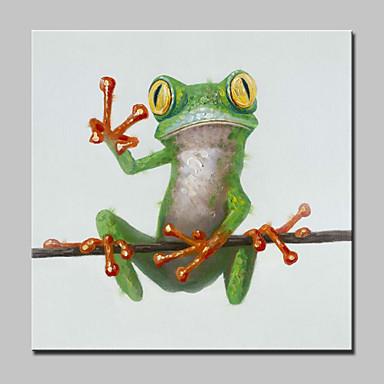 Handgemalte Tier POP Ölgemälde,Modern Ein Panel Leinwand Hang-Ölgemälde For Haus Dekoration