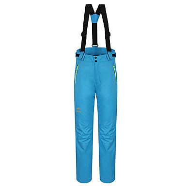 Pentru femei Παντελόνι πεζοπορίας Impermeabil Keep Warm Rezistent la Vânt Căptușeală Din Lână Fleece detasabil Pantaloni pentru S M L XL