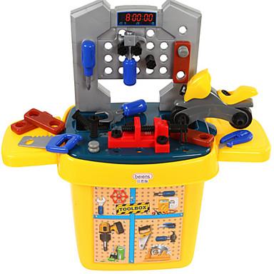 beiens Игрушечные инструменты Ящики для инструментов Оригинальные Безопасность пластик Детские Мальчики Игрушки Подарок