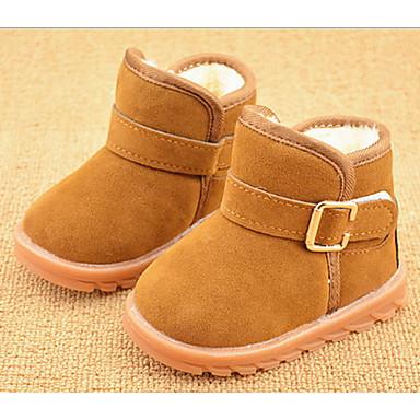 Jungen Baby Schuhe Pelz Winter Schneestiefel Stiefel Für Normal Schwarz Fuchsia Braun