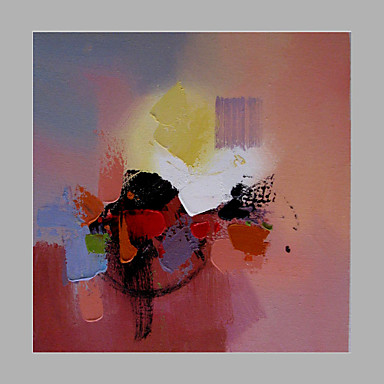handgemaltes abstraktes modernes, eine Plattensegeltuch-Ölgemälde-Inneneinrichtung
