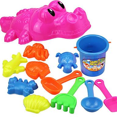 voordelige water Speeltjes-Strand Speelgoed / Doen alsof-spelletjes Krokodil Noviteit ABS Jongens / Meisjes Kinderen Geschenk 12 pcs