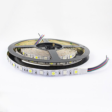 5 m Fleksible LED-lysstriper 300 LED 5050 SMD RGB 12 V