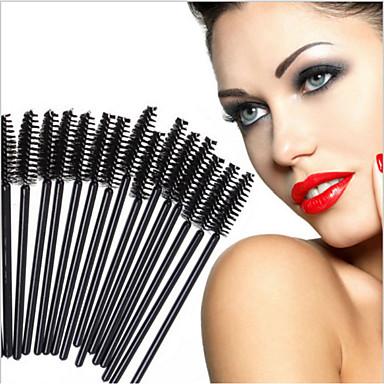 50stk Profesjonell Makeup børster Øyenvippe Børste Syntetisk hår Bærbar / Økovennlig / Profesjonell Plast Øye / Maskara Stor Børste