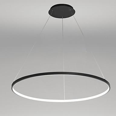 Cirkelrunda Hängande lampor Glödande Målad Finishes Metall Akryl LED 110-120V / 220-240V Varmt vit / Vit LED-ljuskälla ingår / Integrerad LED