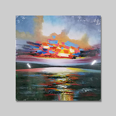 IARTS®Abstract colorful Landscape Scenery Oil Painting Home Decoration