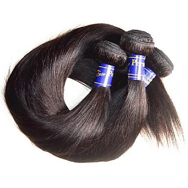 povoljno Remy umeci od ljudske kose-Ljudska kosa Remy umeci od ljudske kose Ravan kroj Peruanska kosa 1000 g Više od jedne godine