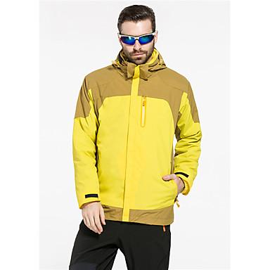 Herrn Trainingsanzug Skifahren Camping & Wandern Freizeit Sport Schnee Sport Hinterland Wasserdicht warm halten WindundurchlässigFrühling