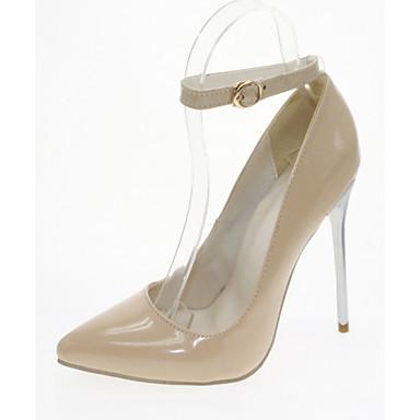 Talon Eté à Bleu Similicuir Printemps Chaussures Bout pointu 05992482 Confort Chaussures Femme Nouveauté Aiguille Polyuréthane Talons Marche w8IPqSg