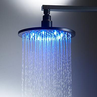 أنتيك دش المطر برونز عتيق ميزة - زخة المطر / صديقة للبيئة / LED, رئيس دش