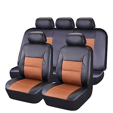 voordelige Auto-interieur accessoires-CARPASS Auto-stoelhoezen Stoel hoezen Zwart / zwart + zwart / Blozend Roze PVC Zakelijk Voor Universeel