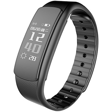 Pulseira inteligente YYI6Hr para Android iOS Bluetooth Esportivo Monitor de Batimento Cardíaco Tela de toque Calorias Queimadas Suspensão Longa Monitor de Atividade Monitor de Sono Lembrete / iPhone