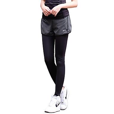 Dame Tights til jogging / Treningstights sport Modal Leggings / Klessett Yoga & Danse Sko, Trening & Fitness, Løp Sportsklær Fort Tørring, Pustende