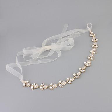Krystall Strass pannebånd 1 Bryllup Spesiell Leilighet Hodeplagg