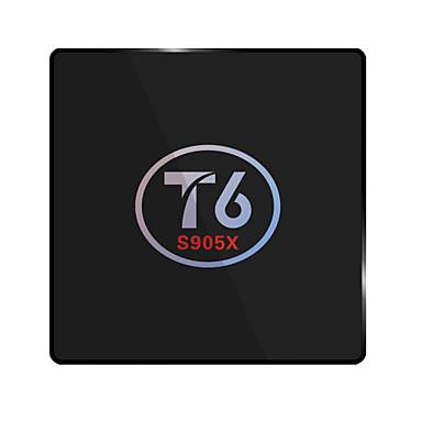 T6 Android6.0 TV-boks Amlogic S905X 2GB RAM 16GB ROM Dobbeltkjerne
