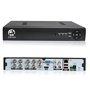 jooan® 8ch 1080n 5 en 1 (compatible tvicviahdcbvsipc) cctv dvr h.264 no hdd security surveillance hd-output vga