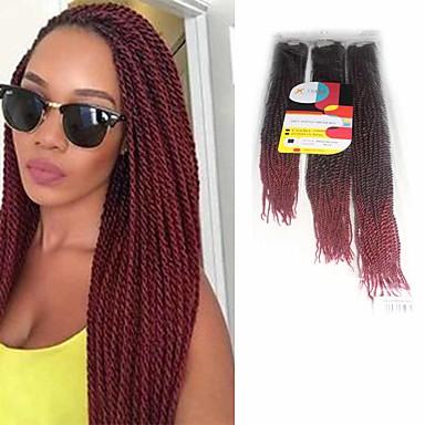 Senegal 100 % Kanekalon-Haar Twist Braids Haarzöpfe 81