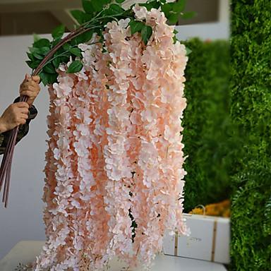زهور اصطناعية 1 فرع الحديث نباتات أزهار الطاولة