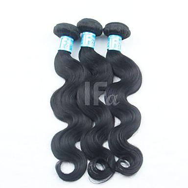 Malaysisches Haar Klassisch Große Wellen Menschliches Haar Webarten 3 Stück Gute Qualität Menschenhaar spinnt Alltag