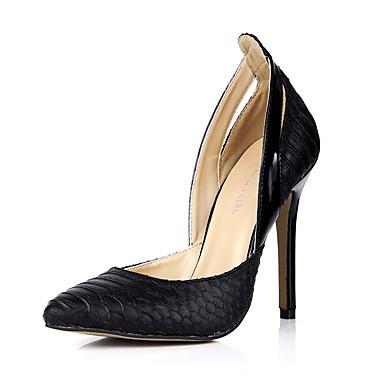 Chaussures pointu Talon Femme Polyuréthane 05557284 Printemps Noir Automne Aiguille à Habillé Chaussures Confort Bout Talons Vert wqPT8rXq
