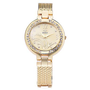 0d11bec764d Mulheres Relógio de Moda Bracele Relógio Simulado Diamante Relógio Japanês  Quartzo Prata   Dourada   Ouro Rose 30 m imitação de diamante Analógico  senhoras ...
