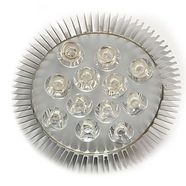 1PC 200-300 lm E27 تزايد ضوء اللمبة 12 الخرز LED طاقة عالية LED أحمر / أزرق 85-265 V / قطعة / بنفايات / CCC