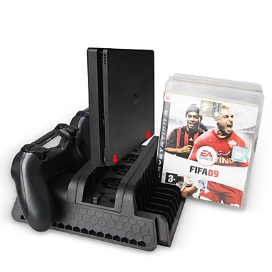 Cargador / Escote Chino / Ventiladores Para PS4 ,  Cargador / Escote Chino / Ventiladores ABS 1 pcs unidad