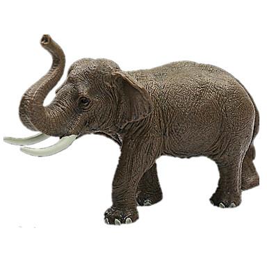 Elefant Mannekengmodeller Dyr simulering Klassisk & Tidløs Chic & Moderne polykarbonat Plast Jente Leketøy Gave 1 pcs