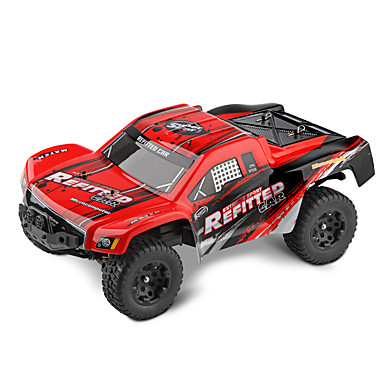 Carro com CR WL Toys A313 2.4G 2WD Alta Velocidade Drift Car Off Road Car Truggy Jipe (Fora de Estrada) 1:12 Electrico Escovado 35 KM / H