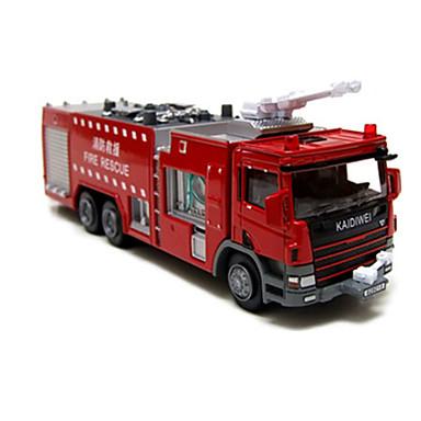 KDW Truck Brannbil Bulldoser Leketrucker og byggebiler Lekebiler 1:10 Originale Barne Gutt Jente Leketøy Gave