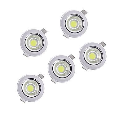 abordables Ampoules électriques-Perles LED Ajustable Encastré LED Encastrées Blanc Chaud Blanc Naturel 220-240 V Maison / Bureau Cuisine Salon / Salle à Manger / 5 pièces