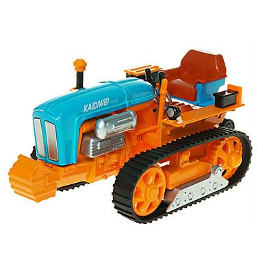 KDW Landbruksmaskiner Traktor Leketrucker og byggebiler Lekebiler 1:18 simulering Inntrekkbar Plast ABS 1pcs Gutt Barne Leketøy Gave