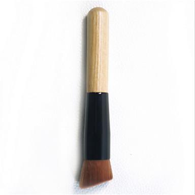 1pcs Makeup børster Profesjonell Foundationbørste Syntetisk hår Bærbar / Reisen / Økovennlig Tre Liten børste