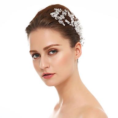 Cristal / Strass Pino de cabelo com 1 Casamento / Ocasião Especial Capacete