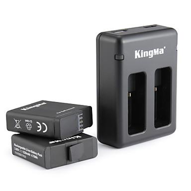 KingMa® Lader batteri For GoPro Hero 5 Stuping Sykkel