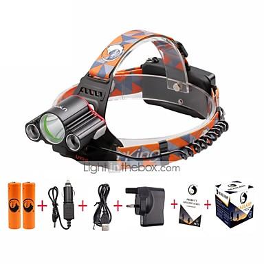 4800 lm مصابيح أمامية / مصابيح الدراجة LED 4.0 طريقة - U'King صغير / سهل الحمل