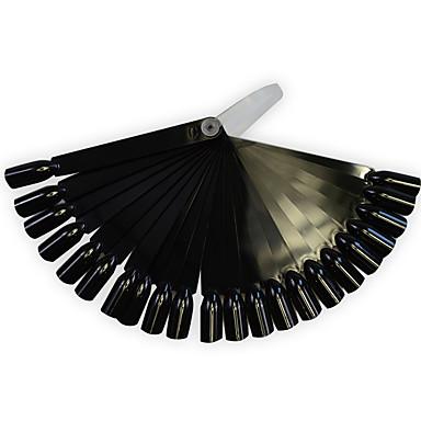 1conjunto / 1 / 24pcs Dicas de unhas artificiais Ferramenta de Nail Art Ferramentas de pintura de unhas Profissional / 24 cores arte de unha Manicure e pedicure Plástico Alta qualidade Treino